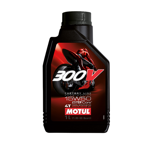 300V FACTORY LINE ROAD RACING 15W50